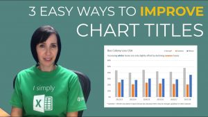 3 Easy Tips for Better Excel Chart Titles