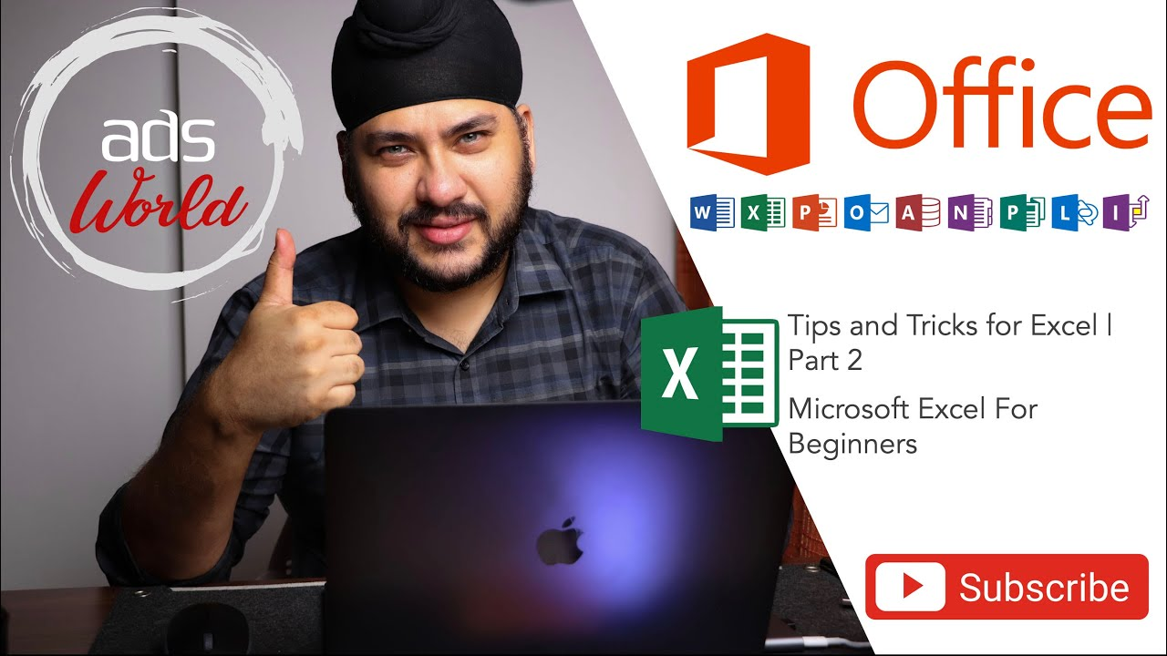 Tips and Tricks for Microsoft Excel for Beginners | Part 2 | Hindi Audio