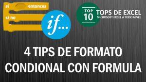 3 tips de Formato condicional con Fórmula | Tops de Excel