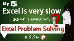 Secret Tips and Tricks to Control Slowness of an Excel File | Excel Problem Solving | in Tamil
