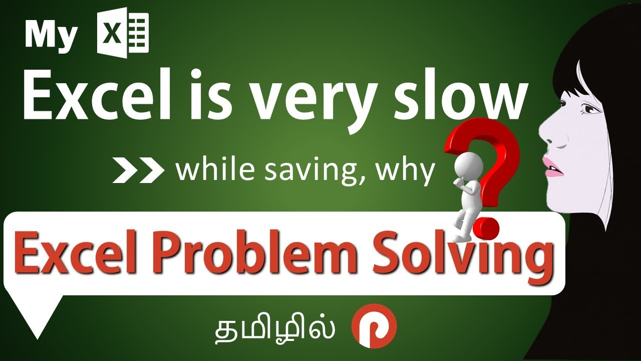 Secret Tips and Tricks to Control Slowness of an Excel File   Excel Problem Solving   in Tamil