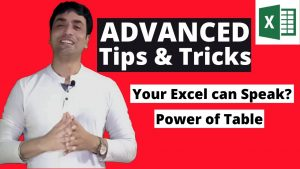 Top 5 Advanced Excel Tips and Tricks