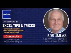 Excel Tips and Tricks by LEXICON with Bob Umlas