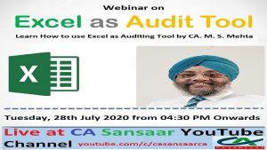Using Excel as an Auditing Tools – Excel Tips and Tricks | How to use Excel as an Audit Tool