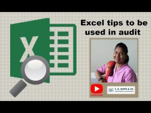 Excel tips to be used in audit (Explained in Hindi) Part 4