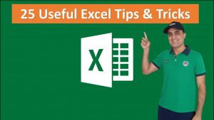 25 Excel Tips & Tricks