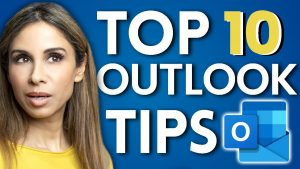 TOP 10 Outlook Tips EVERY Professional NEEDS To Know (in 2021)