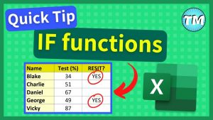 How to use IF Function in Excel | Excel Tips and Tricks #Shorts