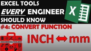 Convert Function – Excel Tips and Tools Every Engineer Should Know #4