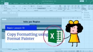 How to use the Format Painter in Excel   Excel Tips and Tricks