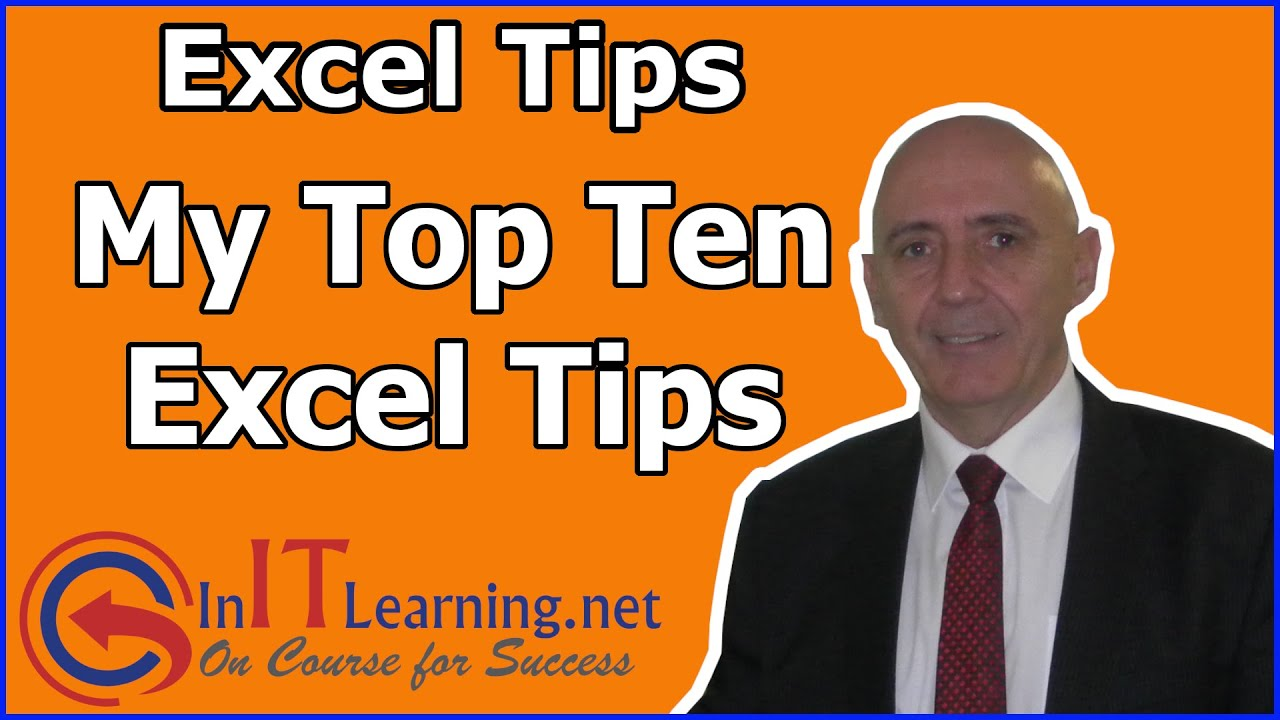 Top 10 Microsoft Excel Tips