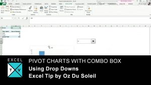 Drop Downs with Pivot Tables – Excel Tips
