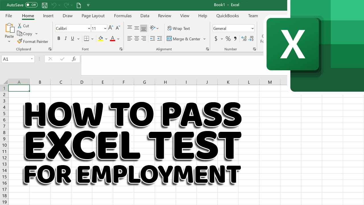 How to Pass Excel Assessment Test For Job Applications – Step by Step Tutorial with XLSX work files