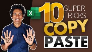Things you can do with Excel Copy Paste – Surprisingly powerful!!!