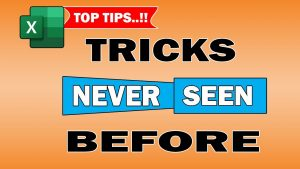 #Shorts | Excel super hidden tips and tricks never seen before | Microsoft excel tips