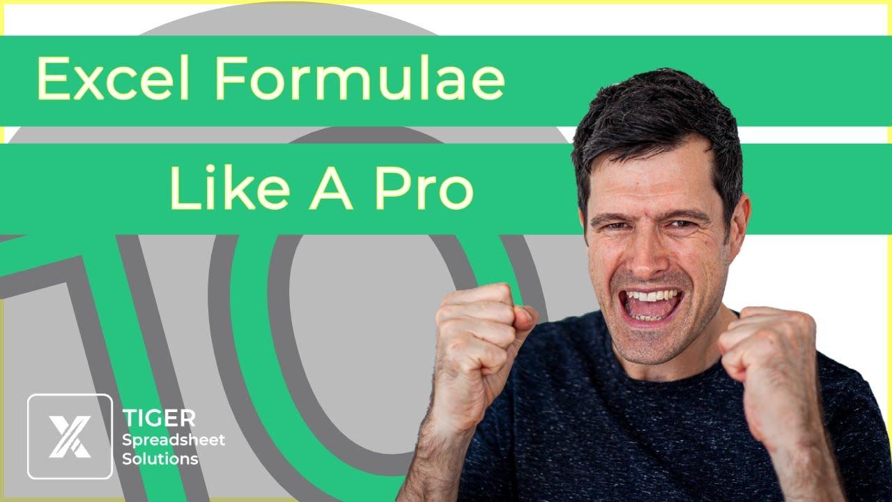 10 Excel Formula Building Tips (Windows PC)