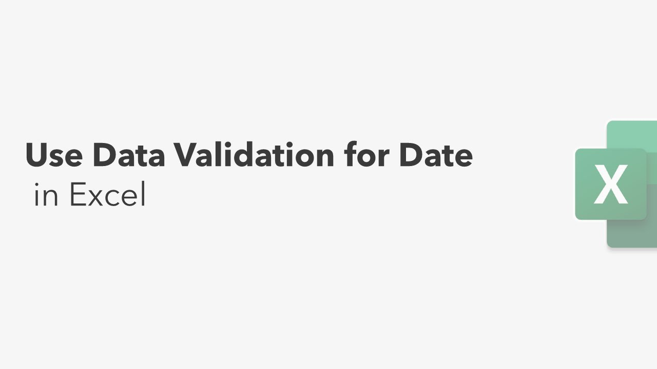 Use Data Validation for Date || Excel Tips || Learn Excel Fast ||