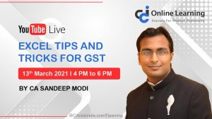 Excel Tips and Tricks for GST