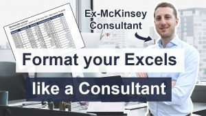Excel Formatting Tips for Consultants