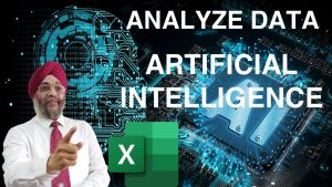 EXCEL TIPS & TRICKS – EXCEL ANALYZE DATA –  Artificial Intelligence
