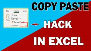 #Shorts | Microsoft Excel copy paste hack in hindi | copy paste tips in excel in hindi