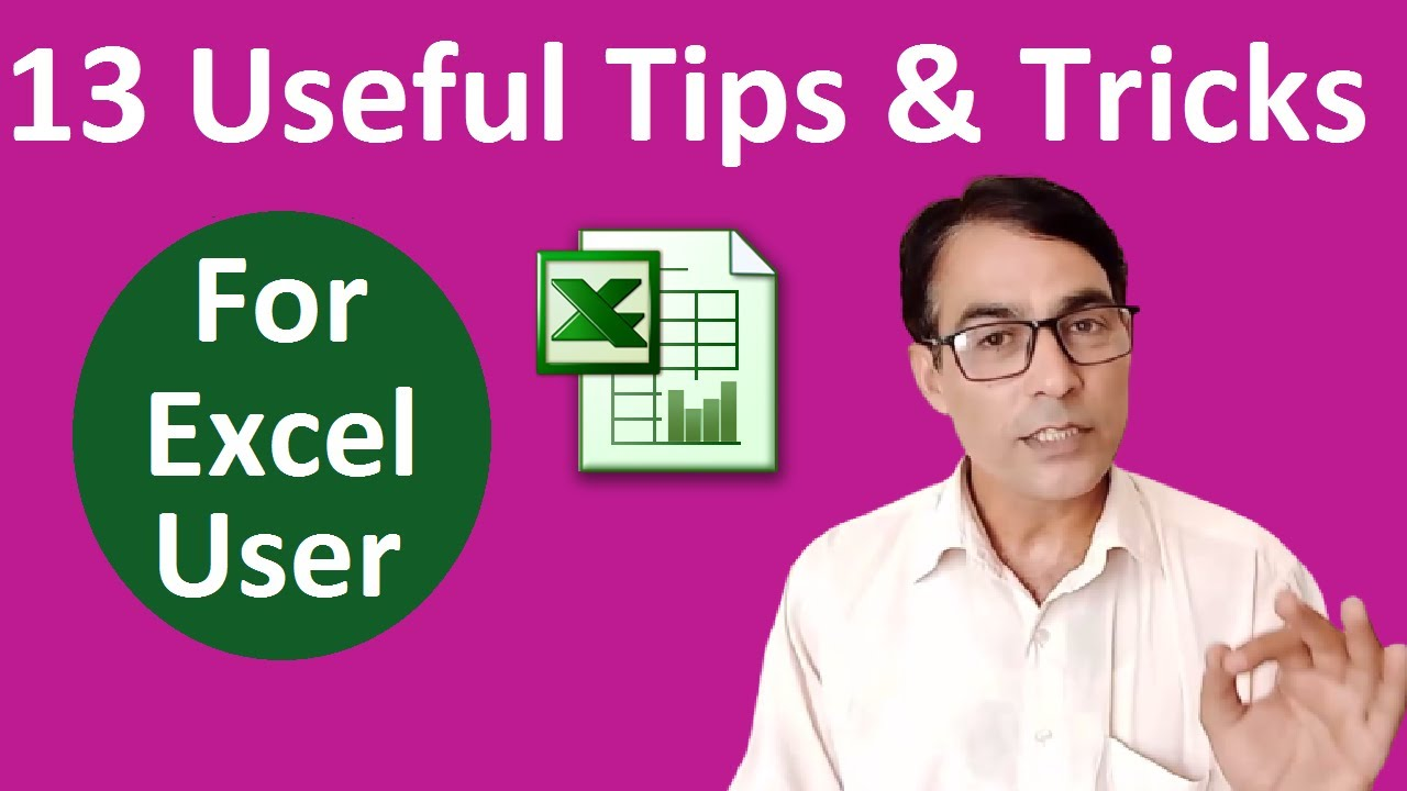 13 Amazing Excel Tricks You Should Know | MS Excel Tips and tricks in hindi