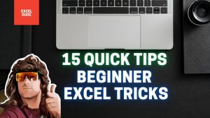 15 Quick tips for Beginners Excel Tutorial Learn Excel tips and tricks