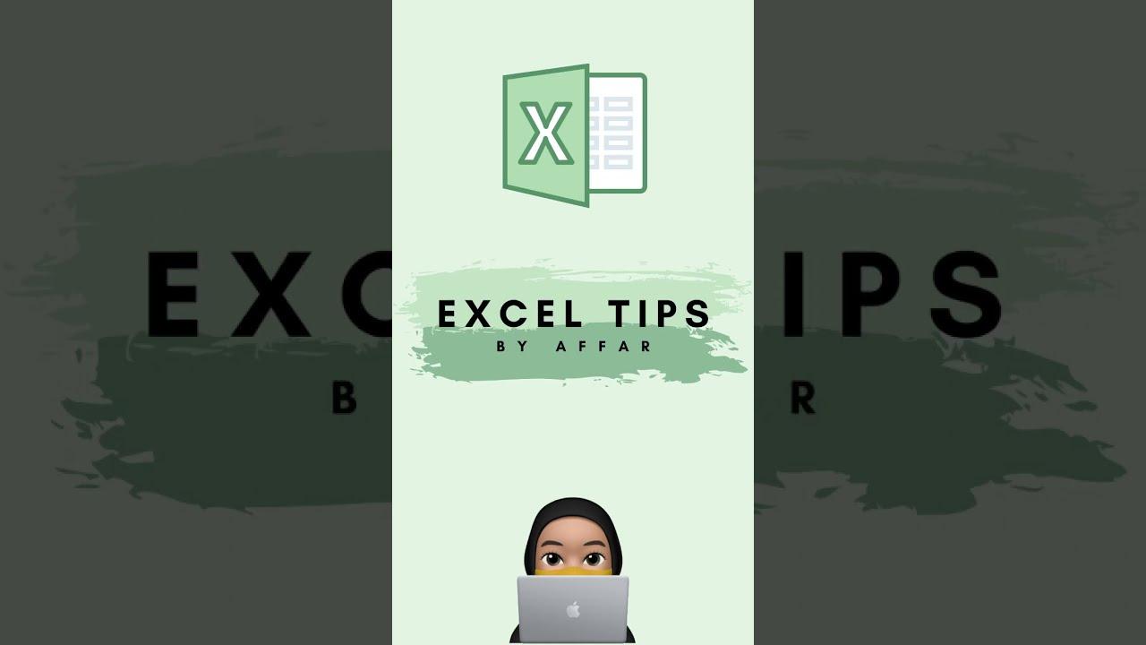 Excel tips – how to open workbook