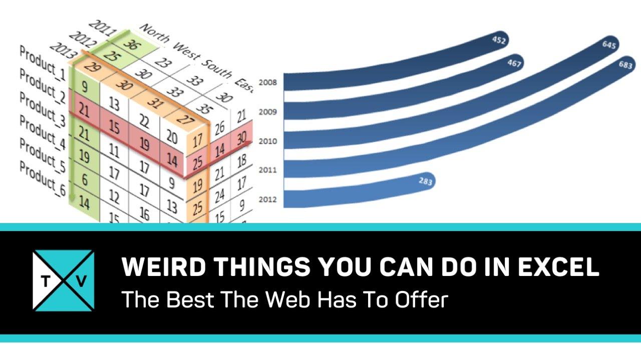 Excel Tricks – WEIRD Excel Tips – Online Tips