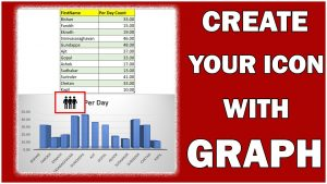 #Shorts | Create icon inside graph | excel tips and tricks in hindi