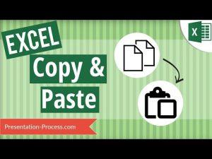 Excel Copy Paste Tricks