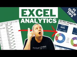 Excel for Analytics – Portfolio Project Series Video 1 – Quick Excel Tips