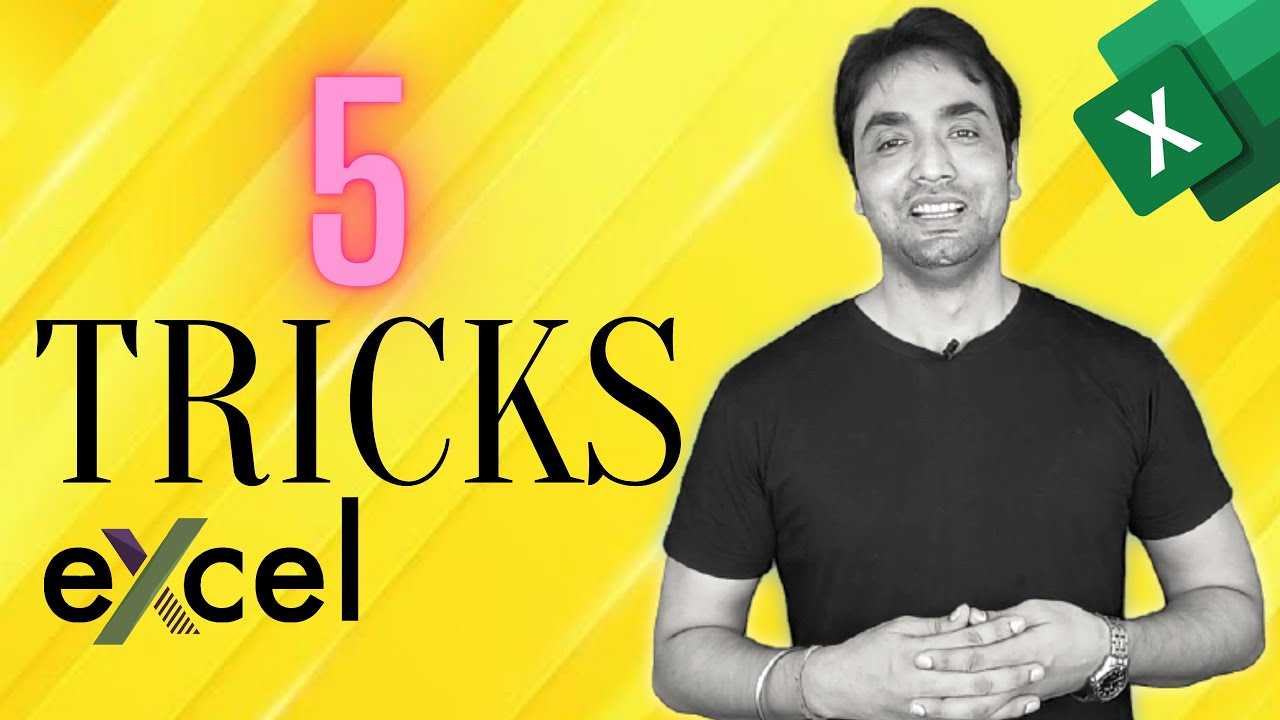 Top 5 Excel Productivity  Tricks | Excel Tips & Tricks
