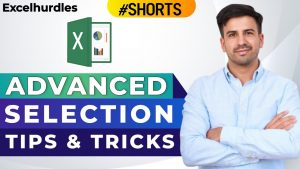 Aavance Selection Tips and Tricks in Excel | Advanced Excel Tips and Tricks | #shorts #Excelhurdles