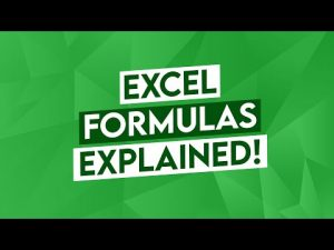 Excel Formulas Explained! (Excel Tips and Tricks Beyond AUTOSUM in Excel 365 and Excel 2019)