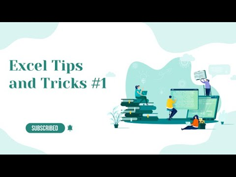 Excel Tips and Tricks #1 how to check which formulas are used in the Excel sheet 