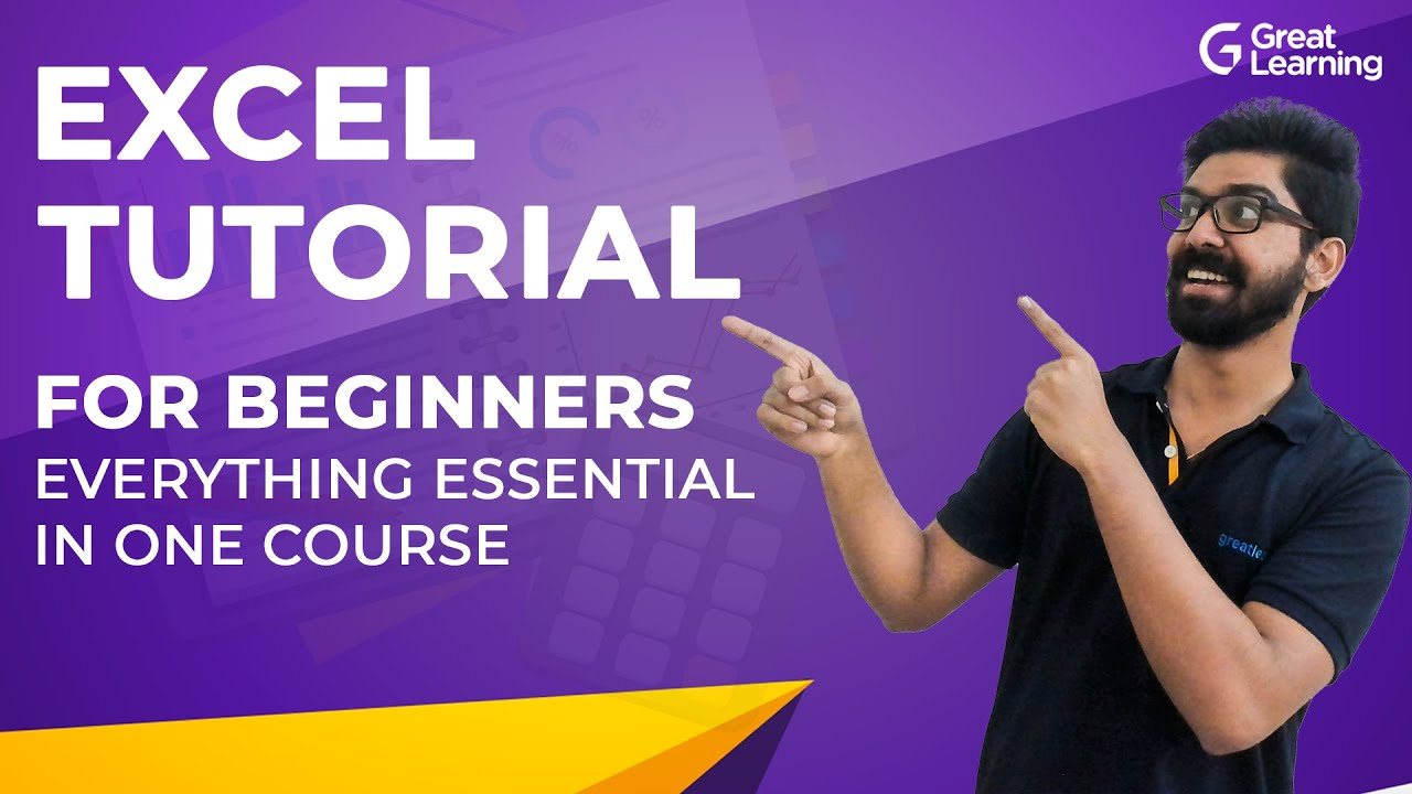 Excel Tutorial for Beginners | Excel Tips & Tricks | Excel full Course | Great Learning