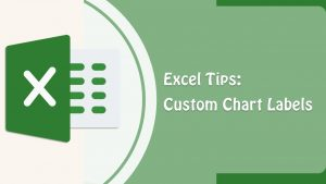 Excel Tips – How to show custom data labels in charts