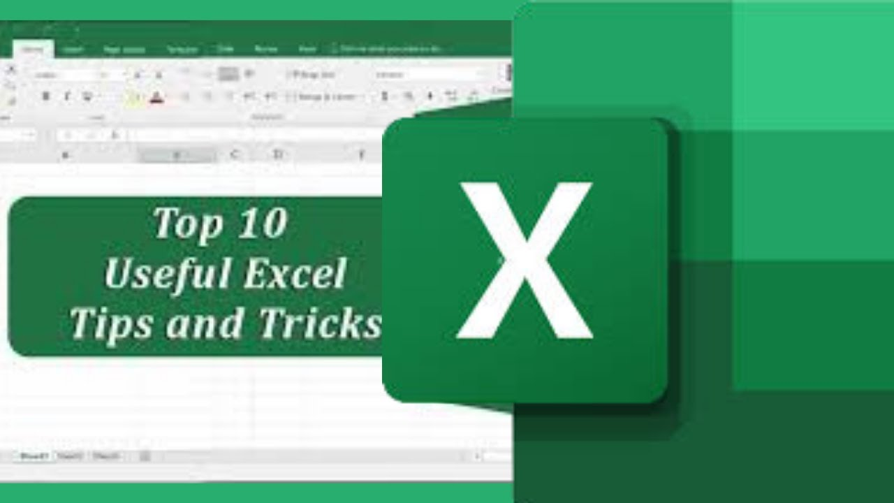 Top 10 Microsoft Excel Tips and Tricks – Excel Tutorial
