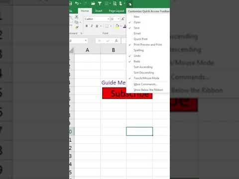 #shorts || Excel Tips And Tricks | Add space between commands- #excelshorts