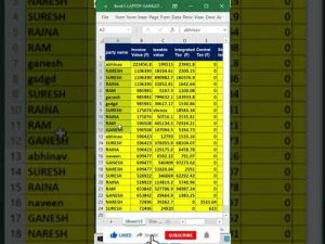 #shorts | Sort Trick In Excel |Excel funny magic trick and tip | Excel shortcut trick |Excel trick|
