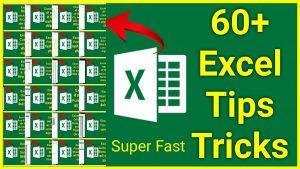 Top 60 Ultimate Excel Tips And Tricks 2021  II Advanced Excel Formulas II