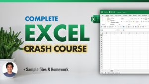Want to learn Excel❓ Here is a complete crash course for you