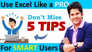 How to Use Excel Like a PRO ? 5 Amazing Excel Tips and Tricks
